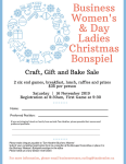 Business Women's & Day Ladies Christmas Bonspiel