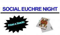 Social Euchre Night - Cancelled